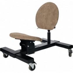 Siège bas ergonomique multipositions