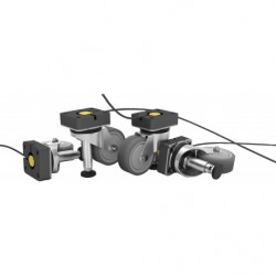 Roulettes élévatrices relevage à manivelle