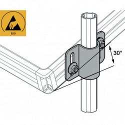 Pont de fixation plateau, profilé aluminium...