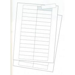 Planches d'étiquettes