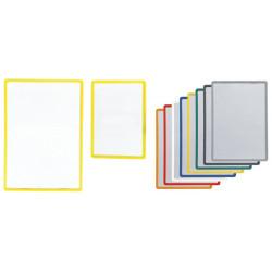 Cadres signalétiques en plusieurs dimensions et couleurs