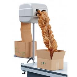 Machine de calage sur pied avec support pour carton papier
