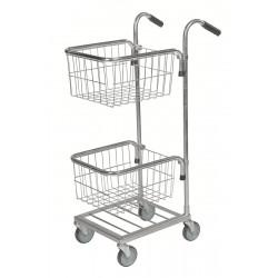 Mini chariot 2 paniers