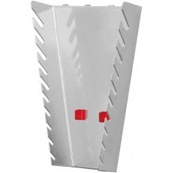 Support vertical 10 clés pour panneau perforé