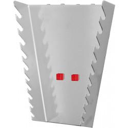 Support vertical 10 clés polygonales pour panneau perforé
