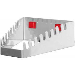 Support horizontal 10 clés pour panneau perforé