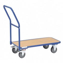 Chariot de magasin 1 plateau