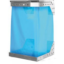 Support sac poubelle pour panneau perforé