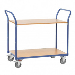 Chariot de magasin 2/3 plateaux charge 200 kg
