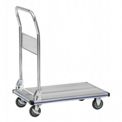 Chariot à plateforme aluminium