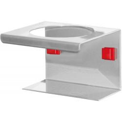 Support boite ronde pour panneau perforé