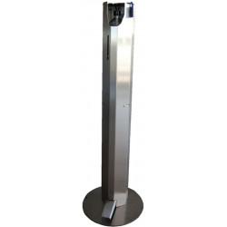 Distributeur de gel hydroalcoolique 1 litre en inox