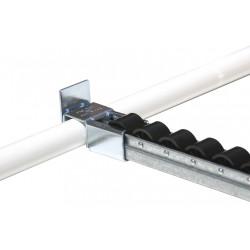 Poste rail à galet avec butée haute pour approvisionnement dynamique