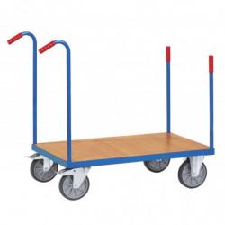 Chariot multifonction à barres de poussée