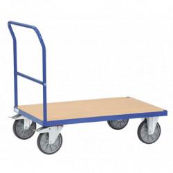 Chariot multifonction à dossier de poussée