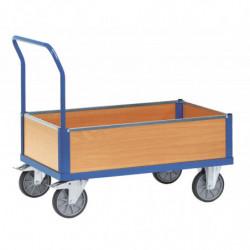 Chariot multifonction à caisse