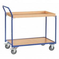 Servante charge 300 kg à plateaux et caissettes