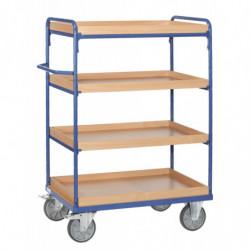 Chariot haut à caissettes