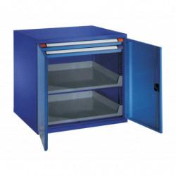 Armoire charge lourde à rayons et tiroirs - Hauteur 1000 mm