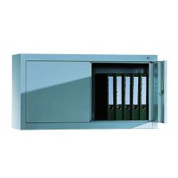 Armoire suspendue P 400 x H 500 mm à portes battantes