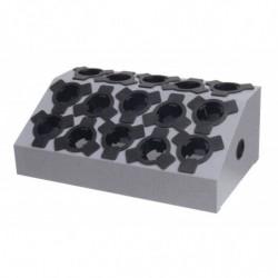 Présentoir incliné 15 porte-outils CN