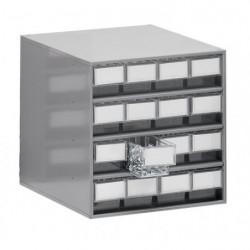 Armoires de stockage L 400 x P 400 x H 395 mm - 16 tiroirs