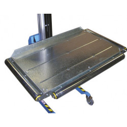 Plateau à rouleaux de transfert  pour mini gerbeurs électriques