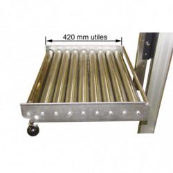 Plateau à rouleaux pour mini gerbeurs électriques