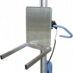 Fourche prise bac et plateau rabattable pour mini gerbeurs électriques