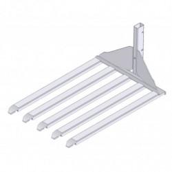Fourche multi-bras pour mini gerbeurs électriques