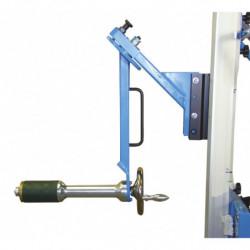 Prise bobine avec expansion manuelle et retournement à 90° manuel