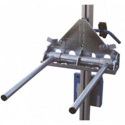 Fourche à écartement variable pour mini gerbeur électrique
