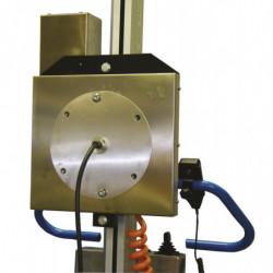 Plaque de rotation motorisée pour mini gerbeurs 90P et 130P