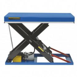 Table élévatrice hydrau-électrique charge 1500 kg