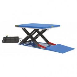 Table élévatrice hydrau-électrique compacte
