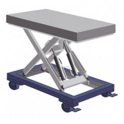Cadre mobile pour table élévatrice