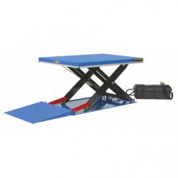 Rampe d'accès manuelle pour table élévatrice