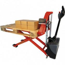 Transpalette haute levée électrique et mise à niveau automatique - Charge 1500 kg