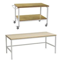 Table d'atelier hauteur fixe