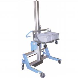 Mini gerbeur ergonomique d'atelier industriel