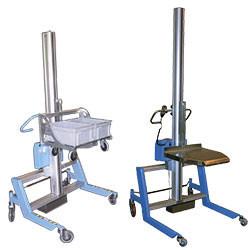 Mini gerbeur semi-électrique 225P / 225PS - Charge 225 kg