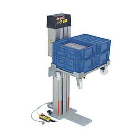 Elévateur de caisses ou bacs électrique