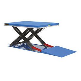 Table élévatrice électrique hydraulique compacte