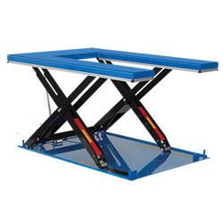 Table élévatrice hydrau-électrique à plateau en E