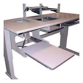 Support imprimante pour poste de travail industriel