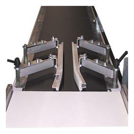 Guidage latéral sur convoyeur transporteur