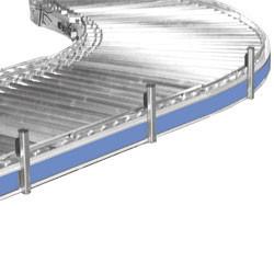 Convoyeur courbe motorisé à rayon intérieur 802 mm