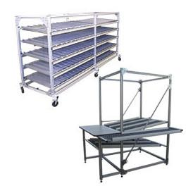 Tube Lean aluminium pour mobilier industriel