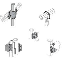 Fixation d'accessoires et adaptateurs