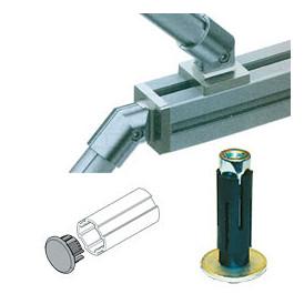 Embout pour tube Lean aluminium
